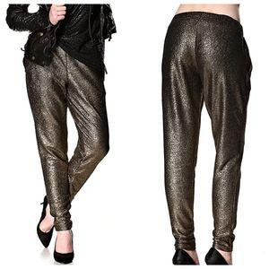 Vero Moda Metallic Gold Pants
